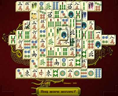 mahjong solitaire free online full screen